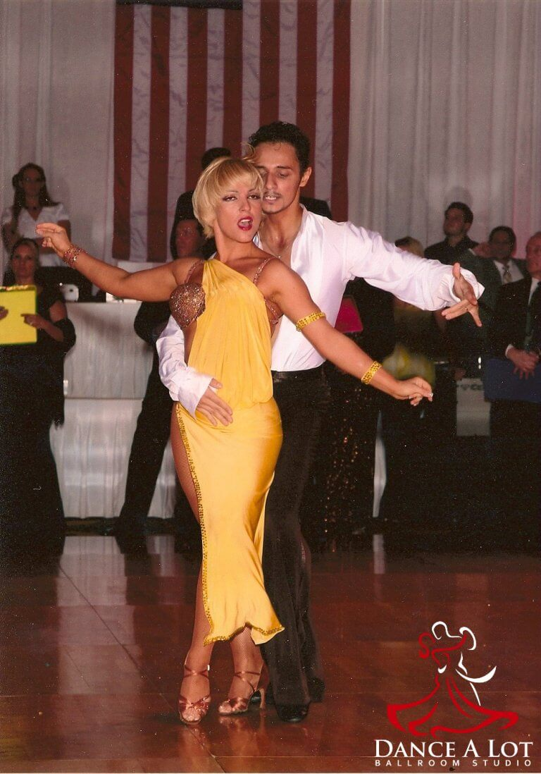 Georgi and Adriana Competing at the Manhattan Dancesport